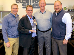 Electra Sales Celebrates Milestone Achievement with Electri-Flex