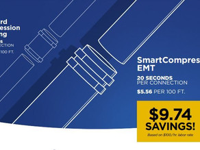 Western Tube Offers Labor Saving on Every job with SmartCompression EMT