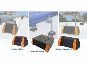 Haydon's H-Block's Provide Long-Lasting Rooftop Support