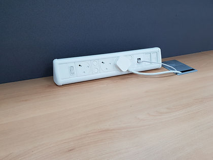 White P-Pack Desktop Units