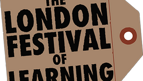 EDUCATE hosting London Festival of Learning 2018