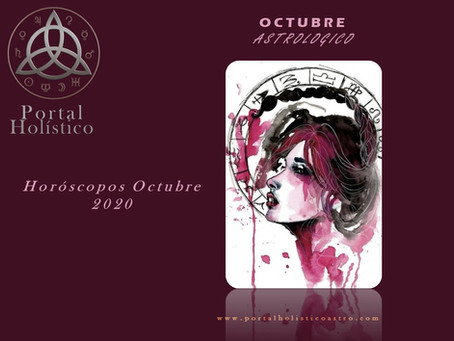OCTUBRE 2020 ASTROLOGICO