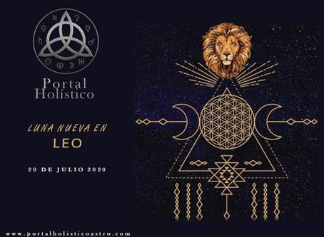LUNA NUEVA EN LEO 18 DE AGOSTO 2020