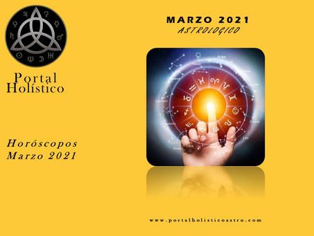 MARZO ASTROLOGICO 2021 HOROSCOPO SIGNO POR SIGNO