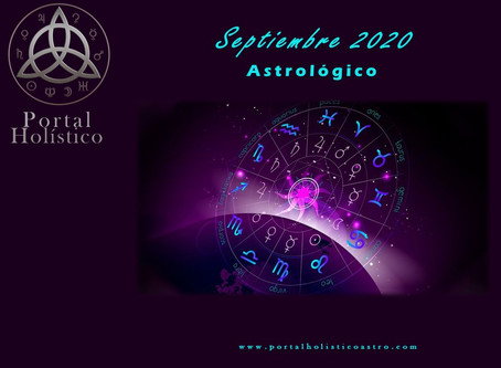 SEPTIEMBRE 2020 ASTROLOGICO