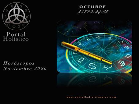 NOVIEMBRE ASTROLOGICO 2020