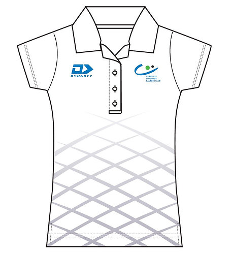 Womens Performance Polo - White