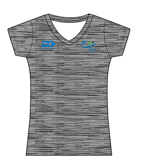 Womens Performance Tee - Grey
