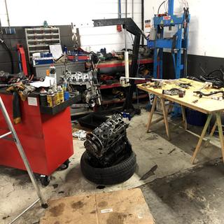 Motor wissel Audi TT