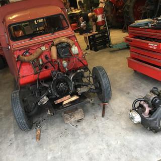 Motor revisie Citroën AK400