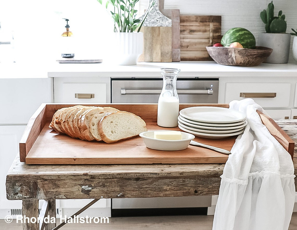 Bread Tray and Kitchen wears from Hallstrom Home store