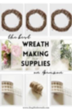 Wreath Making Supplies