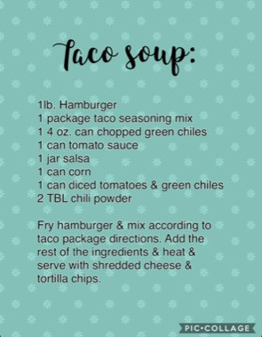 Easy to make Taco Soup Recipe