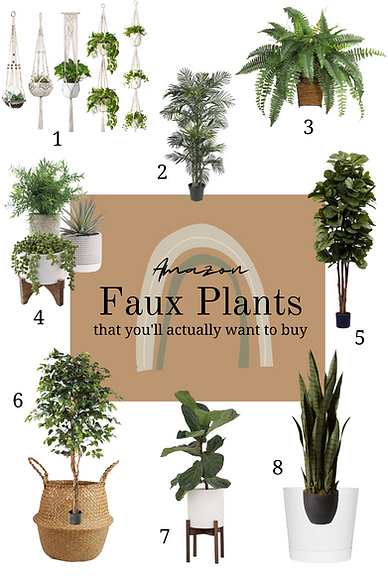 Faux House Plants that you'll want to bu
