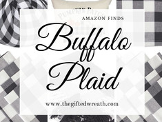 The Best Buffalo Plaid Home Decor on Amazon