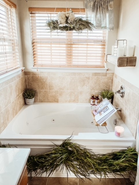 Sharing helpful spa tips for your master bath.