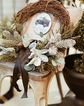 Farmhouse Porch Wreath