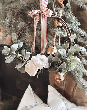 Rustic Farmhouse Christmas Wreath