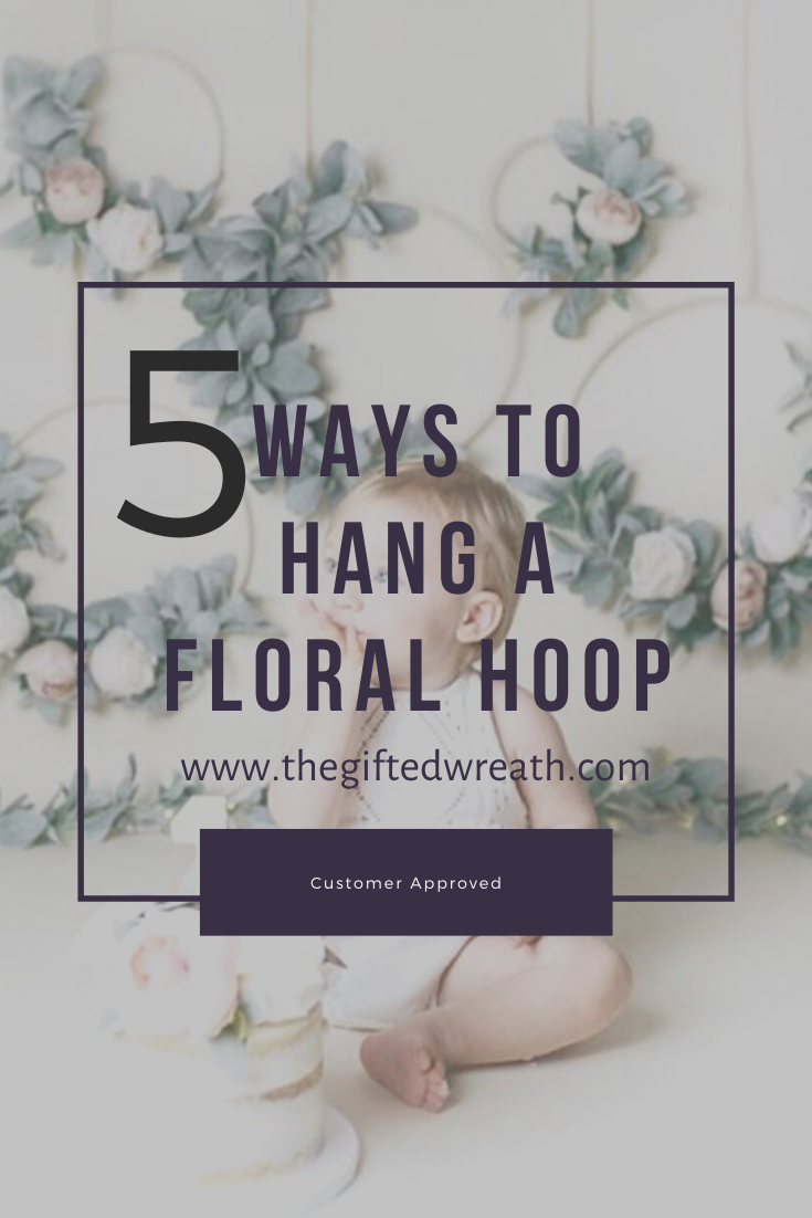 5 examples to help you hang a floral wreath