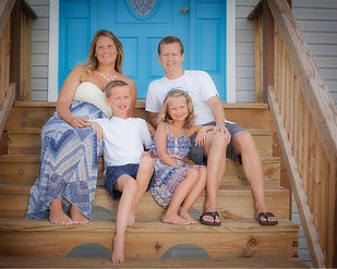 Family Portrait Outer Banks Beach House