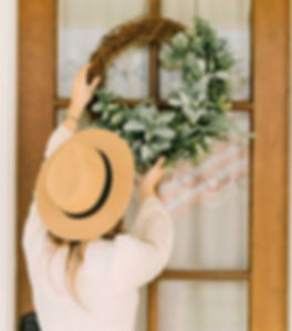 Farmhouse Front Door Wreath