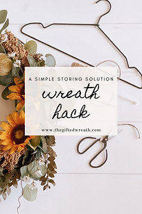 wreath storing tips