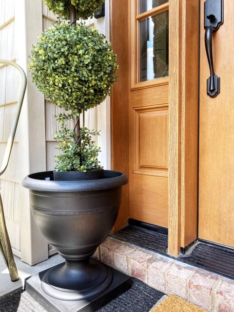 Black Porch Urn Planter Farmhouse Style