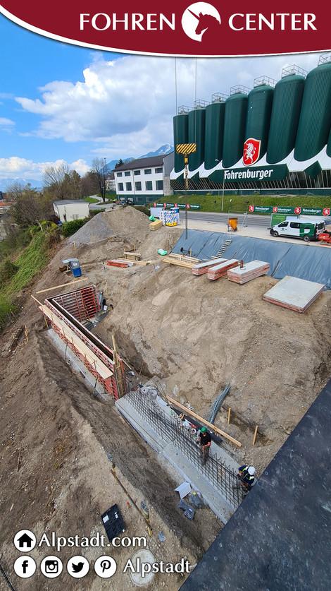 Alpstadt Hotel Bludenz Fohren Center Bau