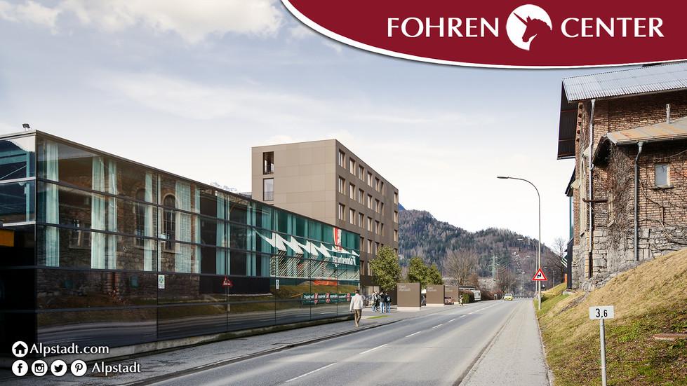 Alpstadt Hotel Bludenz Fohren Center Ren