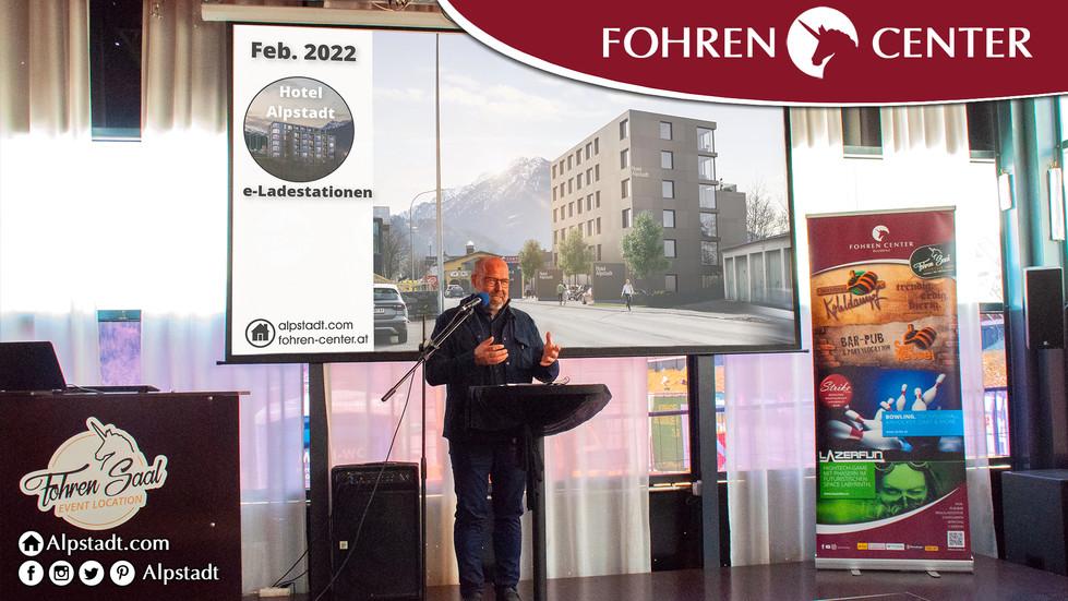 Alpstadt Hotel Bludenz Fohren Center Joh