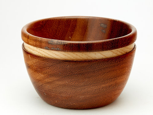 A Two Wood Bowl