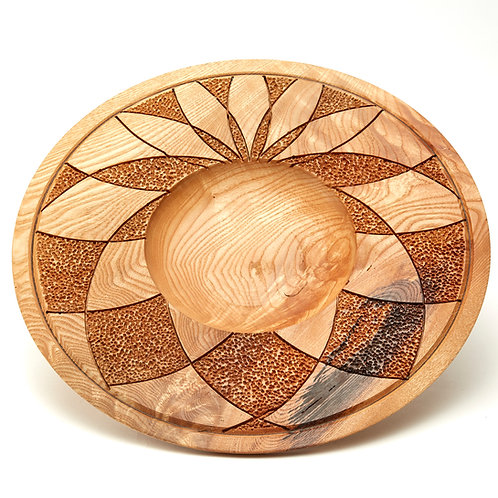 Large Ash Platter