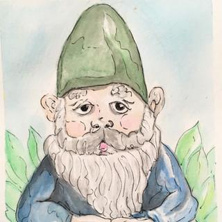 Namaste Gnome_Green