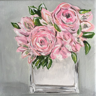 Pink Bouquet Burst