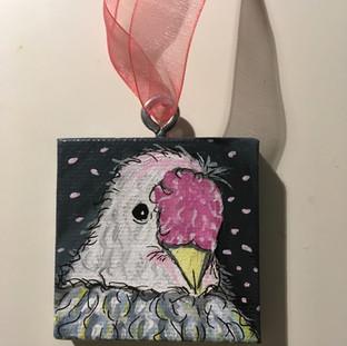 "2"" Puffer Patty Ornament"