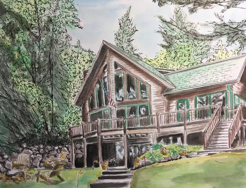 A Family Cabin, Lac Courte Oreilles Lake, WI