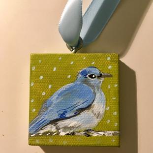Bluejay Ornament