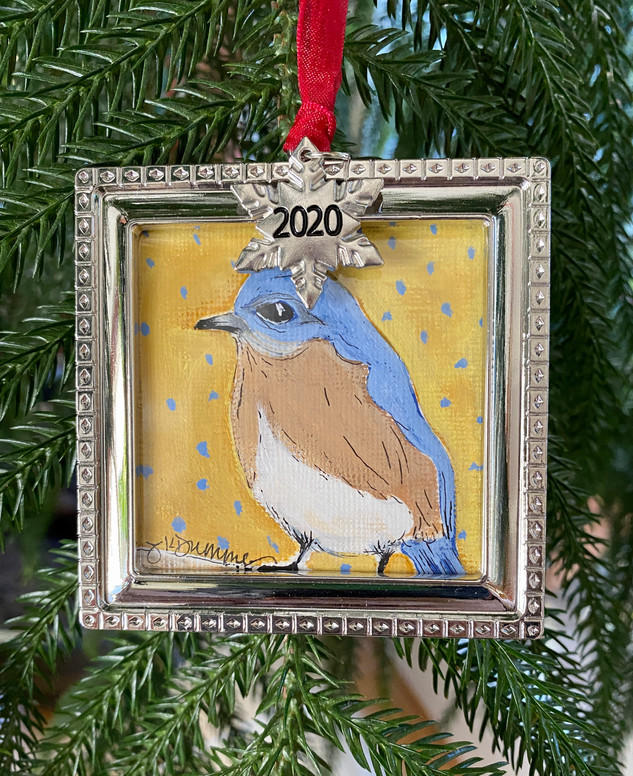 2020 Ornament_BlueBird wth Charm.JPG