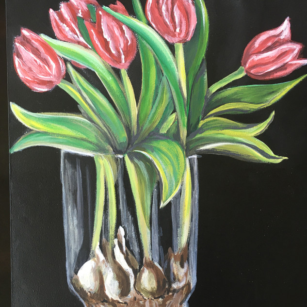 Spring in a Glass Vase