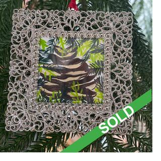2020 Ornament_Pinecone amongst ferns SOL