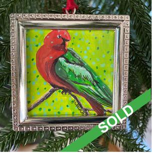 2020 Ornament_Australian King Parrot SOL