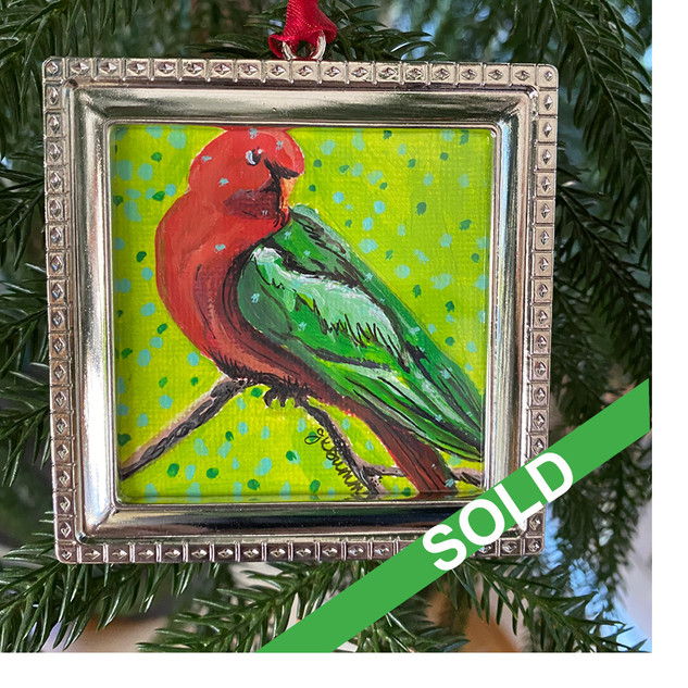 2020 Ornament_Australian King Parrot SOL