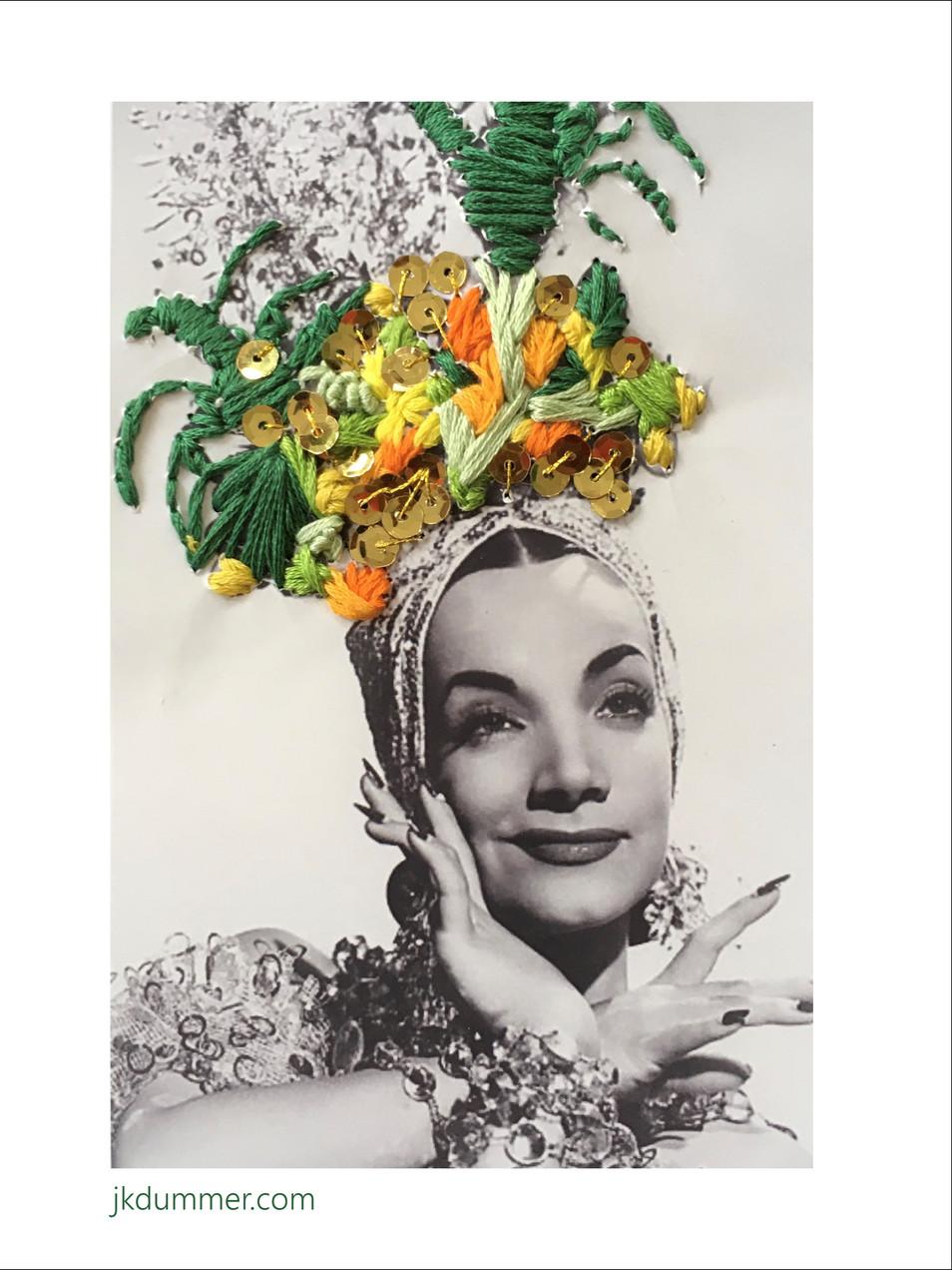 Carmen (Embroidery Art)