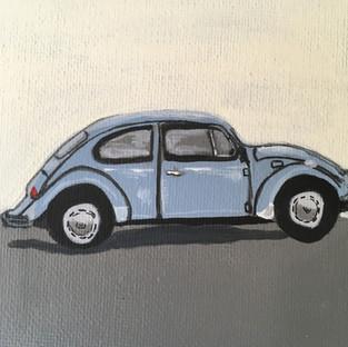 Mini Painting: 1967 Volkswagon Beetle