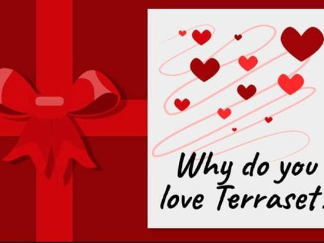 What do you LOVE about Terraset?
