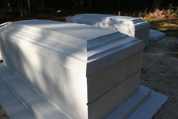 New Orleans cemetery repair renovation tomb
