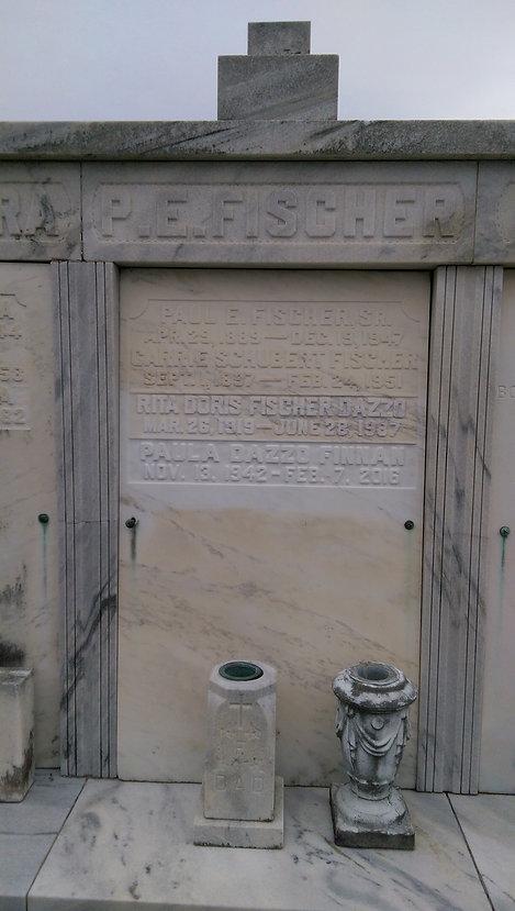 New Orleans tomb repair