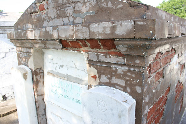 New Orleans tomb restoration cemetery repair