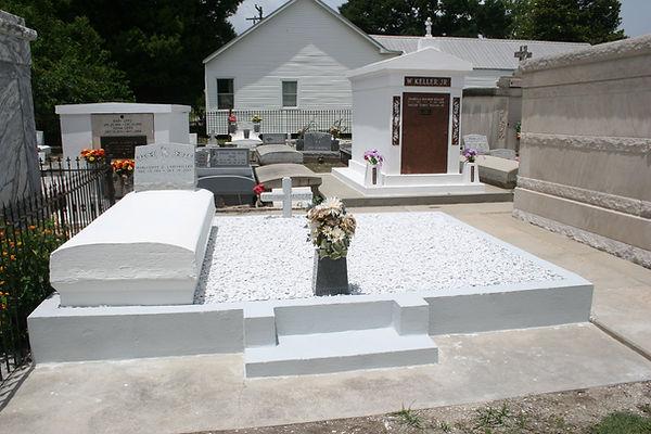New Orleans LA cemetery restoration tomb repair
