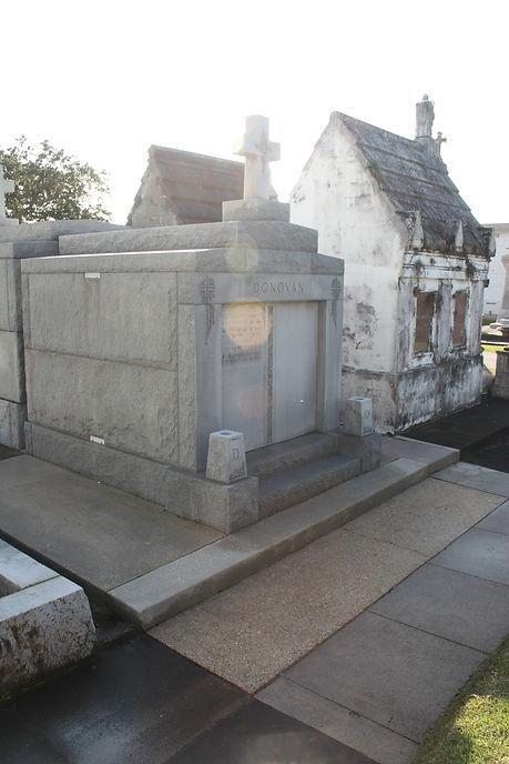 New Orleans cemetery repair tomb restoration repair cleaning painting